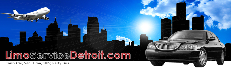 Detroit Airport Transportation. Detroit Airport car service.